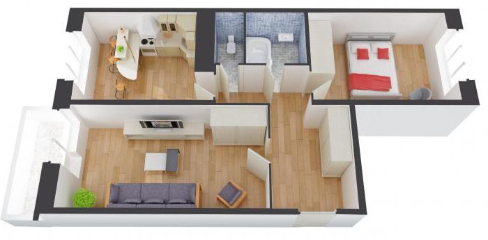 схема 3 комнатной квартиры