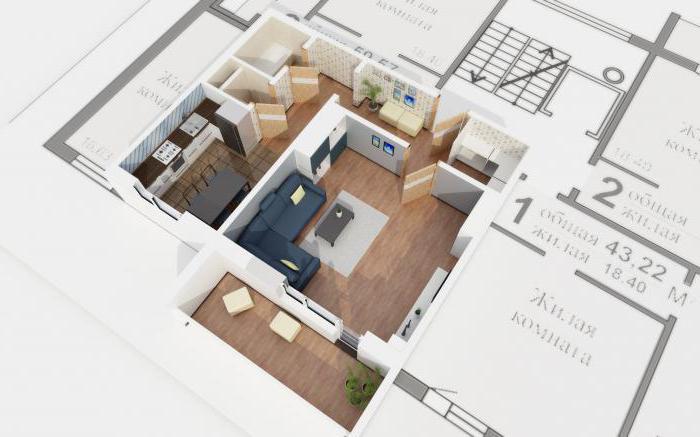 монтажная схема квартиры