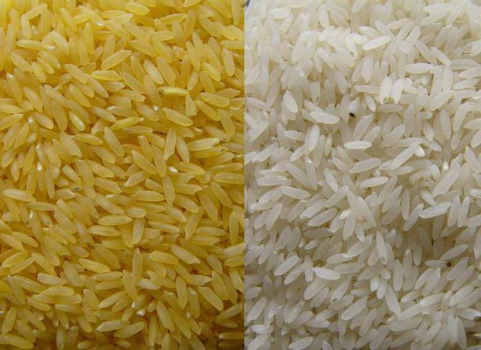 пропаренный рис польза и вред