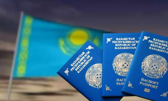 паспорт удостоверение личности казахстан