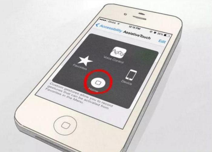 почему кнопка домой на айфоне 5s не работает
