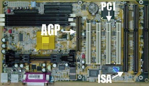 agp и pci фото
