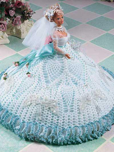 одежда для кукол связанная крючком