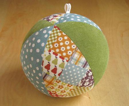 как сшить шар из ткани выкройки