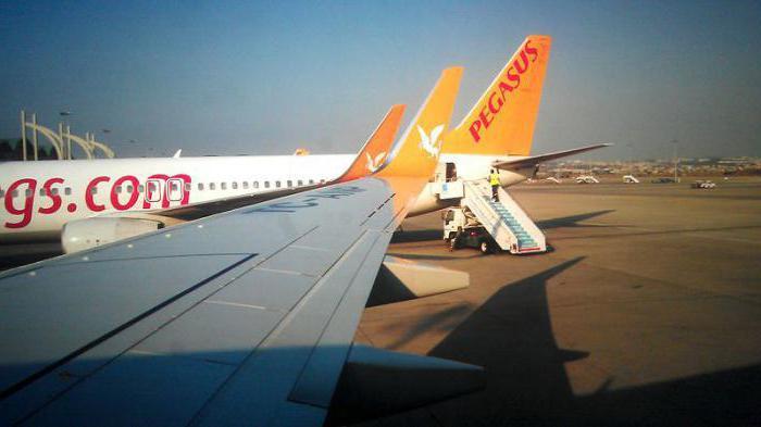 Авиакомпания Пегас Флай отзывы авиапарк ООО