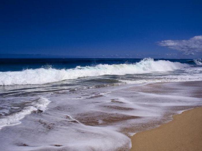 Мировой океан приливы и отливы