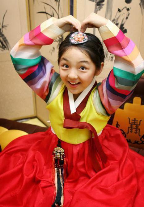 Корейский национальный костюм