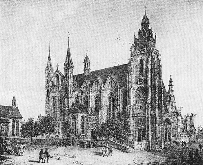 готика в германии архитектура