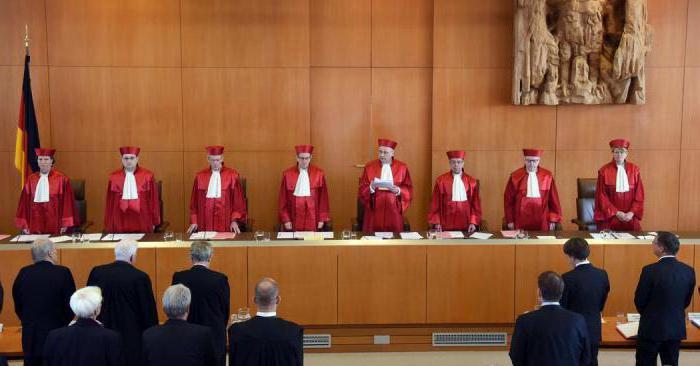 история судебной системы германии