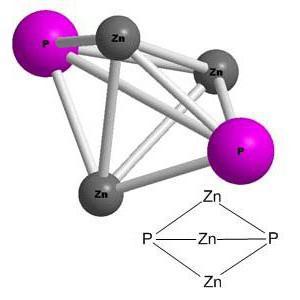 Фосфид цинка формула
