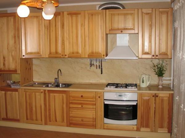 кухонный гарнитур из дерева своими руками