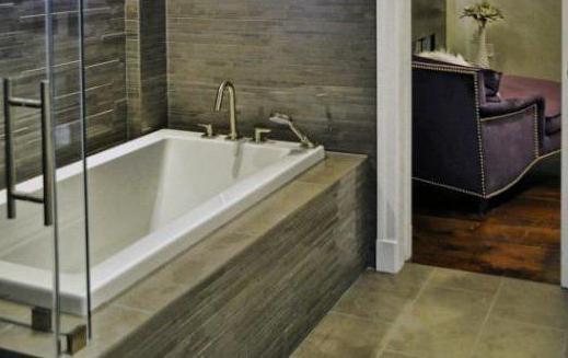 Врезной смеситель для акриловой ванны