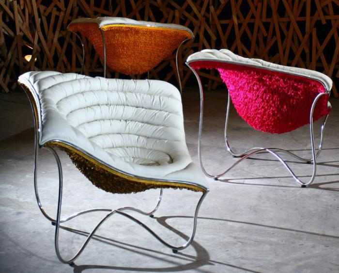 Необычные барные стулья