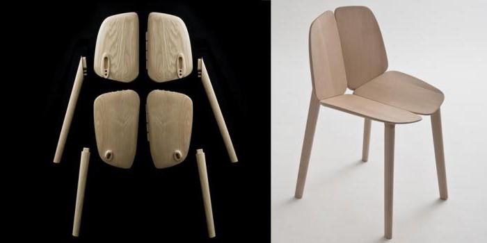 Необычные столы и стулья