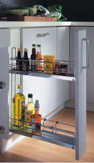 Бутылочница для кухни с доводчиком