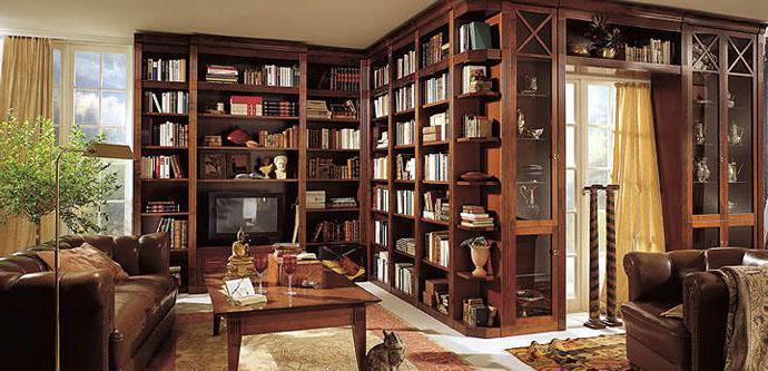 Мебель: полки книжные