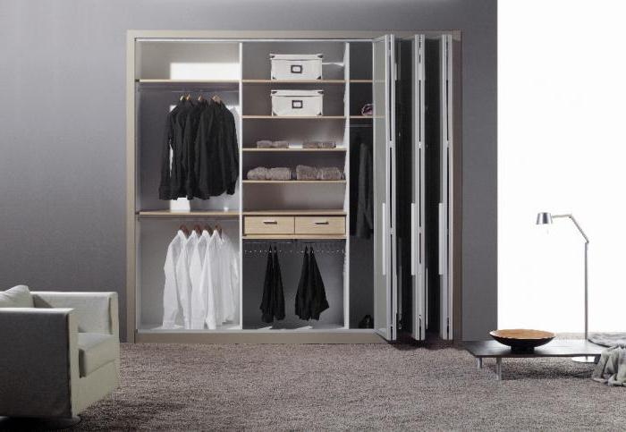 Виды шкафов в дом