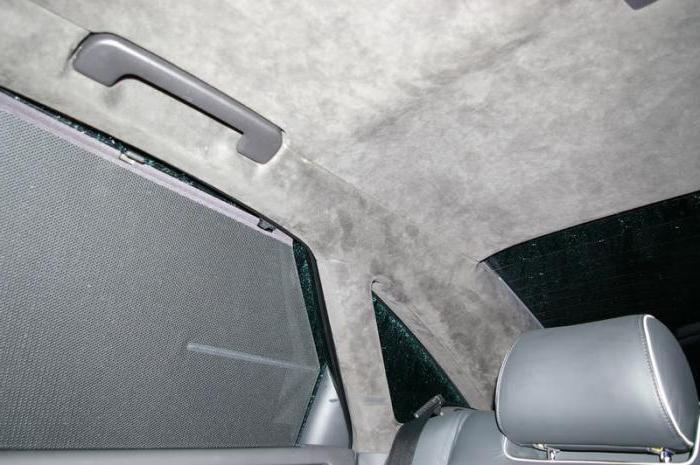 Алькантара на потолок авто
