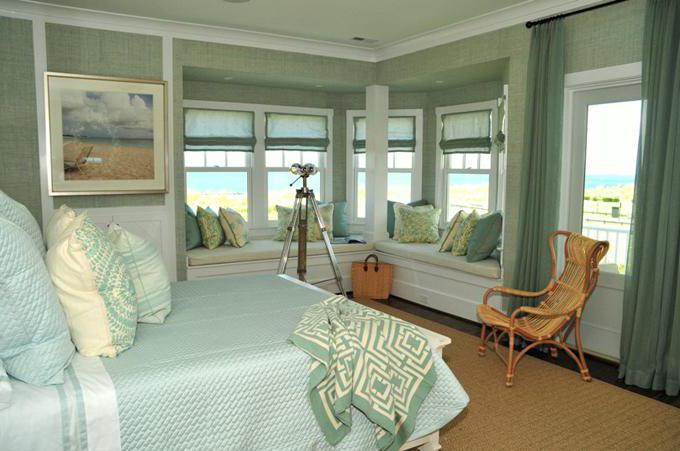 Дизайн спальни с балконом 12 м