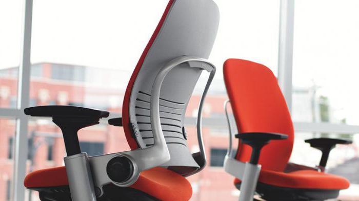 Анатомические кресла для компьютера