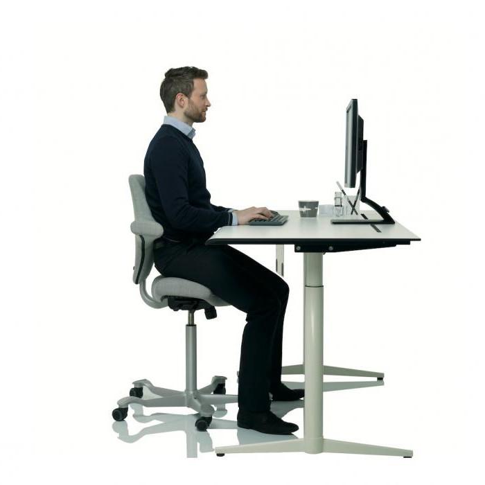 Анатомическое офисное кресло