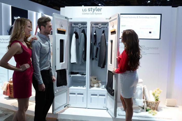 Паровой шкаф для глажки одежды