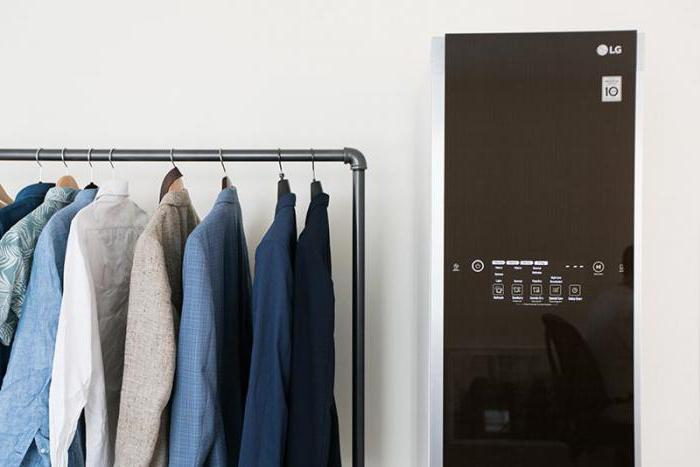 Обзор парового шкафа LG Styler