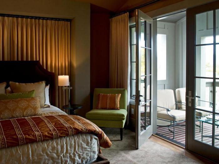 Балкон со спальней