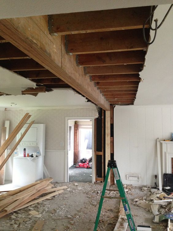 How to determine the bearing walls in an apartment