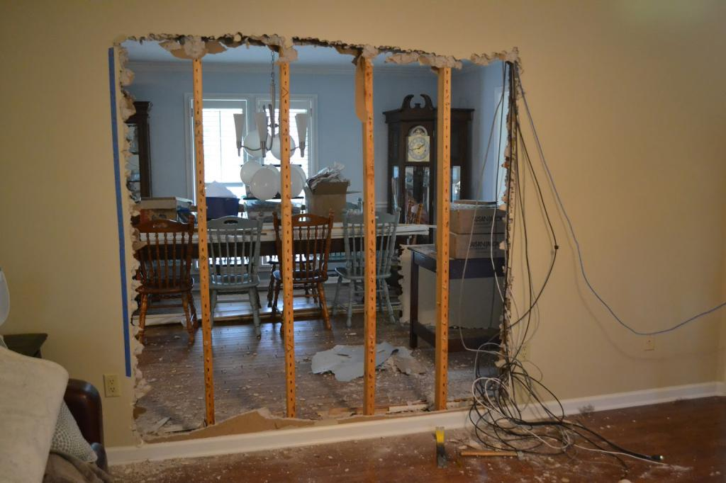 How to identify a load-bearing wall in a brick
