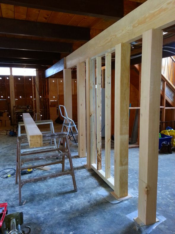How to determine where the load-bearing walls