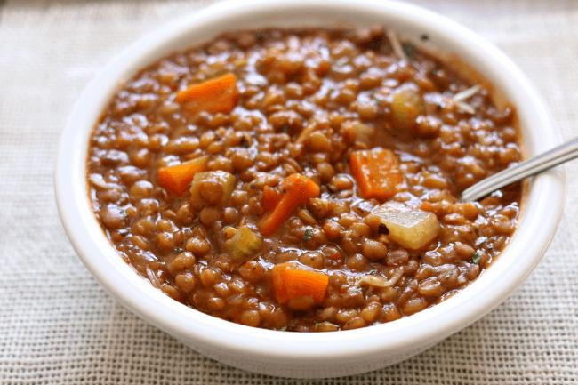 How to properly cook brown lentils on a side dish