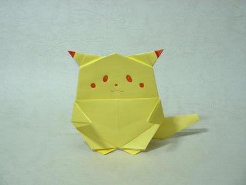 как сделать покемона из бумаги