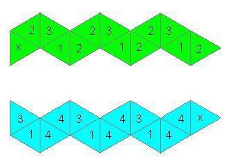 как сделать объемный флексагон из бумаги