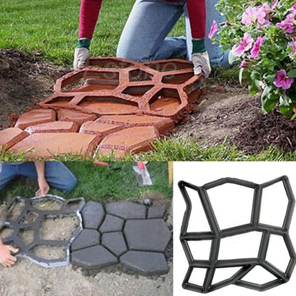 how to make garden paths