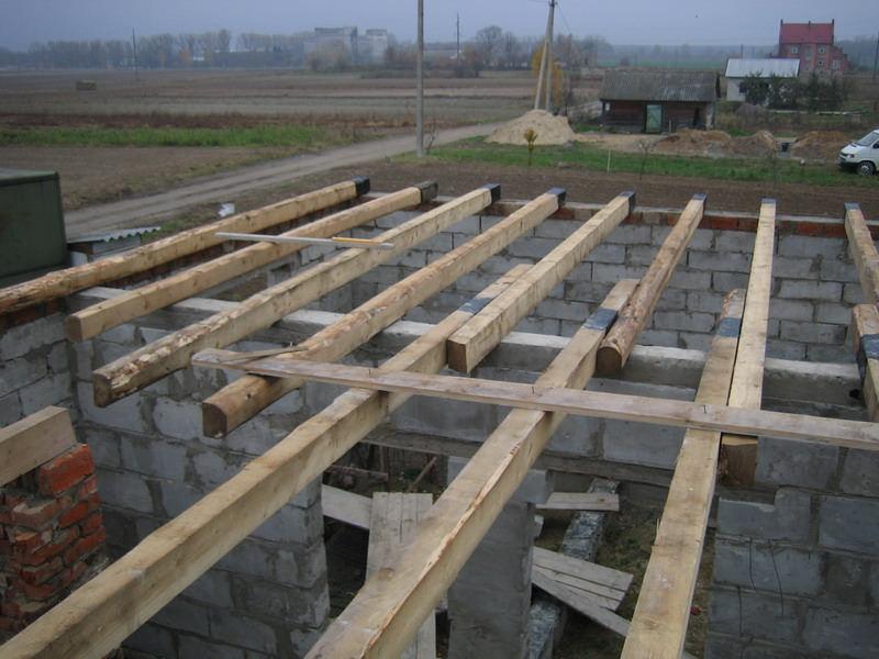 перекрытие первого этажа в доме из газобетона