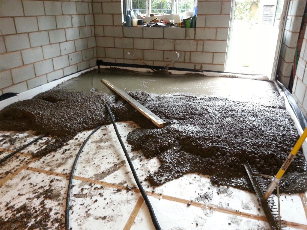 сколько сохнет бетон в гараже