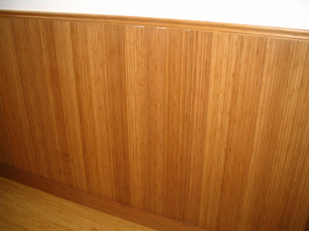 отделка стен необрезной доской