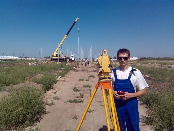 геодезическое сопровождение объектов строительства