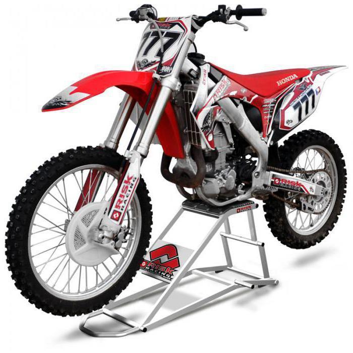 подставка для кроссового мотоцикла