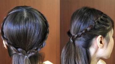 красивые прически в школу на короткие волосы