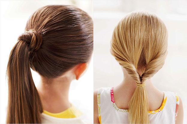 красивые прически на короткие волосы в школу