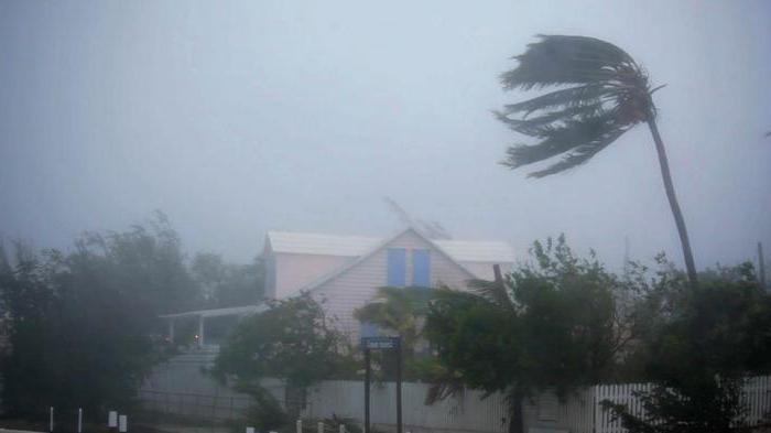 Самые сильные ураганы в мире
