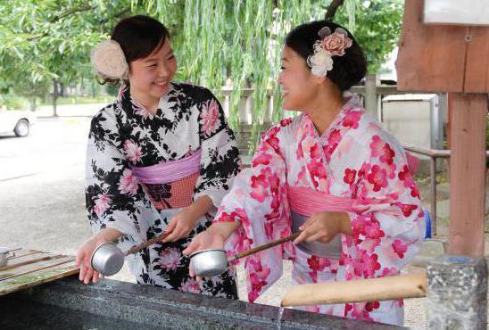 японский традиционный костюм