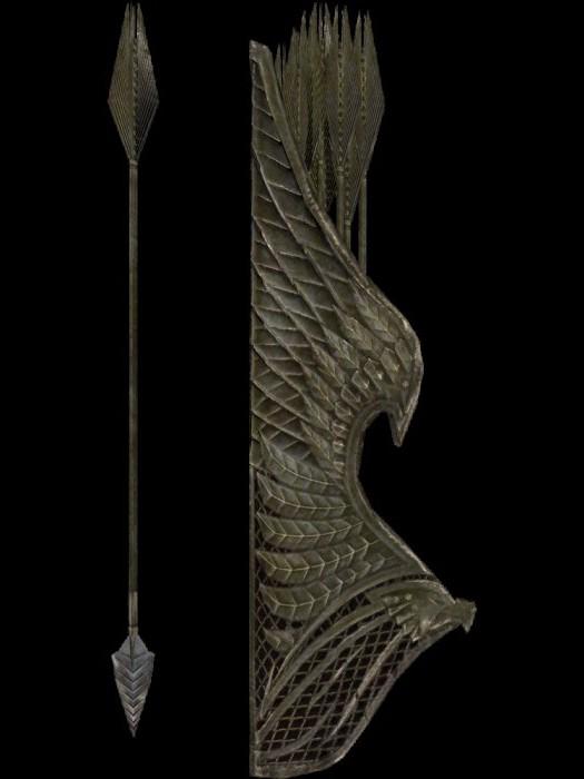 скайрим мод на стрелы
