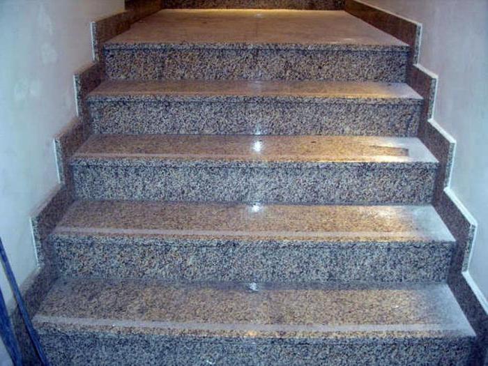Ступени из искусственного камня для лестниц