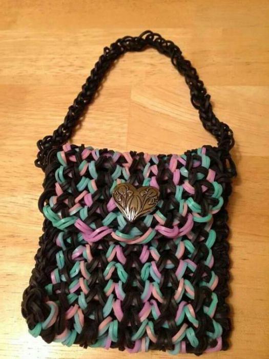 Урок по плетению браслетов из резинок на станке