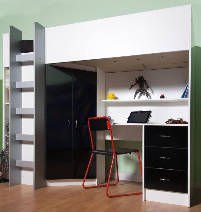 шкаф-кровать детская