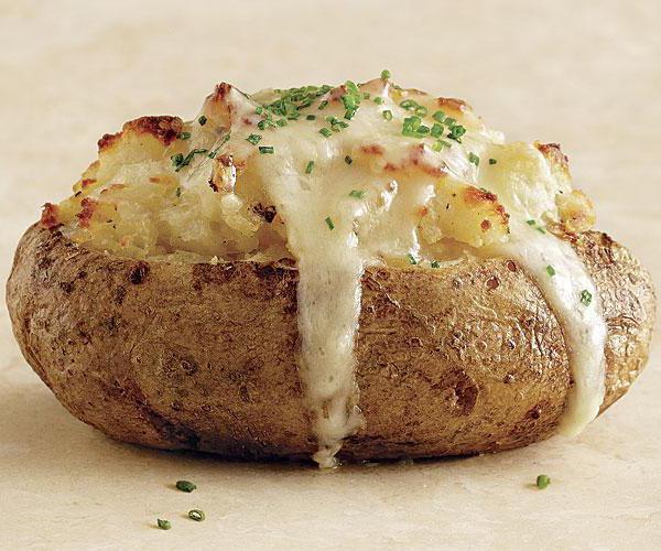 картофель печеный калорийность на 100 грамм