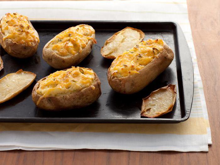 Печеная картошка и похудение